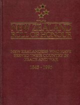 Image of The New Zealand roll of honour : New Zealanders who have served their country in peace and war : 150 years, 1845-1995 - Taylor, Alister (ed.)