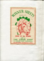 Image of Sheet - White linen sheet nade from a heavy twill. Machined hems and selvedge sides.