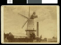 Parr's Windmill on the corner of Elizabeth and The...