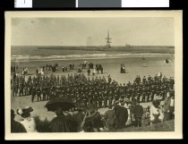 Image of [Rifles parade on Caroline Bay, Timaru] -