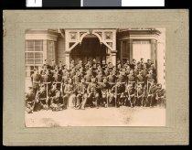 Image of Volunteer soldiers portrait