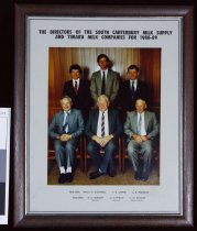 Image of The directors of the South Canterbury Milk Supply and Timaru Milk Companies Ltd for 1988-89 -