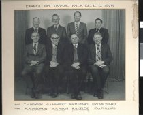 Image of Directors. Timaru Milk Co. Ltd. 1975 -