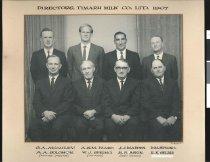 Image of Directors. Timaru Milk Co. Ltd. 1967 -