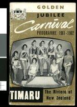 Image of Carnival programme 1961-1962 : golden jubilee -