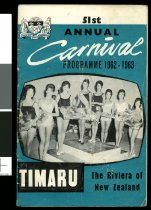 Image of Carnival programme, 1962-1963