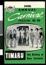 Image of 54th annual Carnival programme 1965-1966 -
