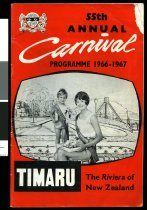 Image of 55th annual Carnival programme 1966-1967 -
