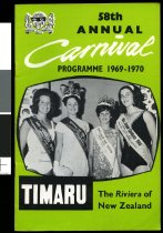 Image of 58th annual Carnival programme 1969-1970 -