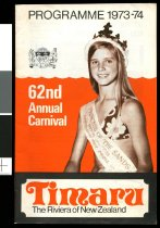 Image of 62nd annual Carnival programme 1973-1974 -