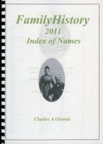 Image of Family history 2011 : index of names - Glennie, Charles A