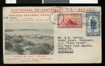 Image of Centennial of Canterbury postal cover