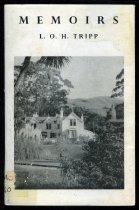 Image of Memoirs of L.O.H. Tripp - Tripp, L. O. H. (Leonard Owen Howard), 1862-1957