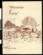 Image of Memories of Fairlie - Hanifin, John Patrick, 1920-1980