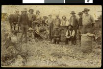 Image of [First potato digger, Norton Reserve, Waimate] -