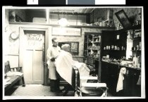 Image of [Clark's hairdressers and tabacconists, Timaru] -