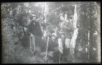 Image of The first conquerors of Mount Cook - Adamson Collection