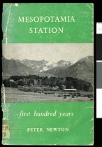 Image of Mesopotamia station : a survey of the first hundred years - Newton, Peter, 1906-