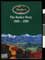 Image of The Barker story, 1969-1999 - McKenzie, Patsy, 1934-