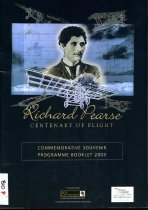 Image of Richard Pearse centenary of flight : commemorative souvenir programme booklet, 2003 - South Canterbury Aviation Heritage Centre