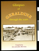 Image of Glimpses of Geraldine through the years - Morrison, Ian (ed)