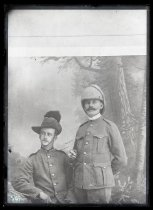 Image of [James Hamilton and friend 'Bailey'] - Clayton Station Collection