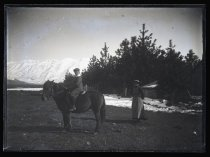 Image of [Boy on pony, Clayton station] - Clayton Station Collection
