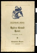 Image of Hydro Grand Xmas dinner, 1948