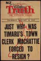 Image of NZ Truth : Thursday, January 24, 1929 -