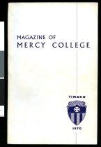 Image of Magazine of Mercy College, 1970