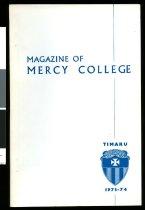 Image of Magazine of Mercy College, 1973-74 -