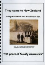 Image of They came to New Zealand : Joseph Dockrill and Elizabeth Cook - Dockrill, Margaret