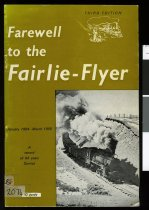 Image of Farewell to the Fairlie Flyer (3rd ed)