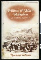 Image of William & Mary Rolleston : an informal biography                                                                                                                         - Rolleston, Rosamond, 1910-