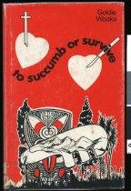 Image of To succumb or survive - Waaka, Te Hira Harold, 1932-