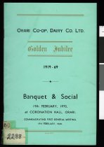 Image of Orari Co-op Dairy Co. Ltd. : golden jubilee 1919-69 -