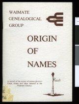 Image of Origin of names