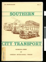 Image of Southern city transport : municipal buses of Dunedin-Invercargill-Timaru - Jones, David (ed.)