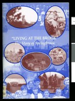 Image of Living at the brook : the story of Springbrook - O'Donnell, Margaret (Margaret. A.)