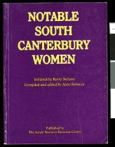 Image of Notable South Canterbury women - Rebecca, Anna (ed.)