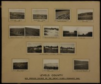 Image of Levels County: soil erosion caused by the great flood - February 1945 -