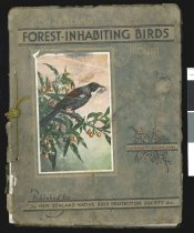 Image of New Zealand birds : 24 coloured illustrations of forest-inhabiting birds with descriptive letterpress -