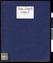 Image of Anne Elizabeth Cooper - Cooper, Anne Elizabeth