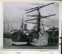 Image of [Timaru Harbour and Caroline Bay scenes] -