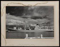 Image of [MV 'Port Chalmers' at Timaru] -