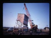 Image of [Dismantling hopper at Sutherlands] -