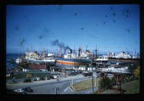 Image of [Record shipping, Timaru harbour] -