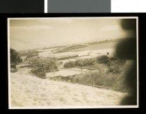 Image of [Snow on Caroline Bay, Timaru] -