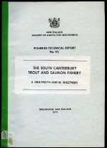 Image of The South Canterbury trout and salmon fishery - Graynoth, E
