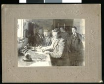 Image of [Receiving news of Boer War] -
